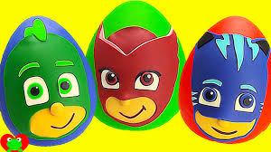 pj masks play doh surprises compilation hour long gekko owlette