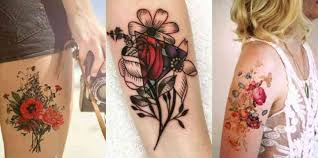 35 best flower tattoos for that will inspire you to get inked