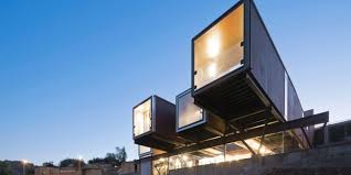 ritzy architectures desert shipping container home flies through