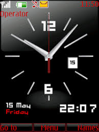 theme clock animated clock s40 theme