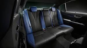 lexus gsf seats lexus gs f special edition motor1 com photos
