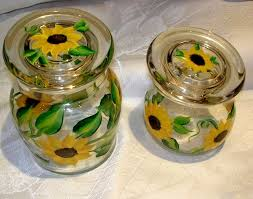 sunflower kitchen canisters canisters extraordinary sunflower kitchen canisters ceramic