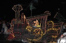 electric light parade disney world blue sky ahead magic kingdom main street electrical parade