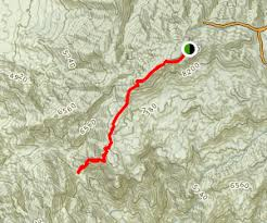 mt lemmon hiking trails map mount lemmon trail arizona maps photos for hiking biking