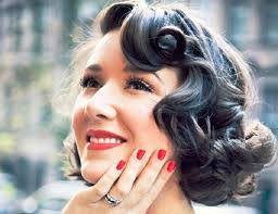 vintage hairstyles for weddings bridal hairstyles for short hair she said