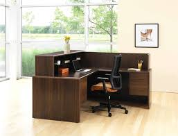 Small Salon Reception Desk by Office Furniture Modern Office Lobby Furniture Medium Linoleum