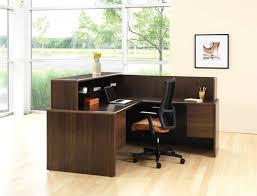 Velvet Reception Desk Office Furniture Modern Office Lobby Furniture Expansive Terra