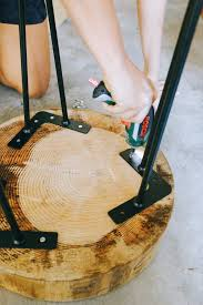Wood Slice Coffee Table Diy Wood Slice Coffee Table A Pair A Spare