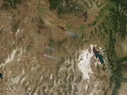 Idaho Fires Map Fires In Nevada And Idaho Natural Hazards