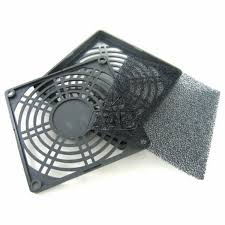 120mm fan dust filter aab plastic filter 120 black plastic dust filter for 120mm