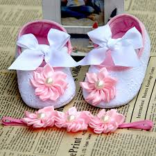 Shabby Flowers Kids Rhinestone Pearl Crown Baby Boots Fashion Shabby Flowers De