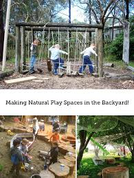 Backyard Play Area Ideas How To Set Up Natural Play Spaces In Your Back Yard Modern