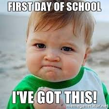 First Day Of College Meme - deluxe first day of college meme first day of school i ve got this