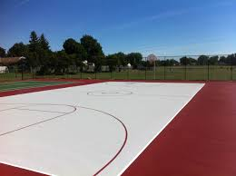 tennis court resurfacing parking lot line painting striping sealing