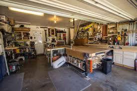 anthony s garage woodshop the wood whisperer anthony s garage woodshop