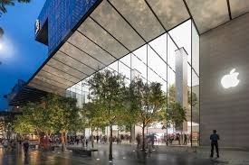 foster partners creates another tree filled apple store with a