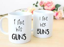his and mug couples mugs his and mug set newly wed coffee mugs