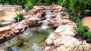 aquaponics hydroponics pond waterfall houston tx youtube