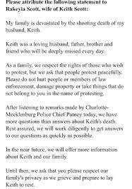 keith scott protests civilian in north carolina shooting