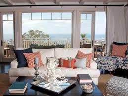 Armchair Blue Design Ideas Interior Interesting Coastal Living Room Design Ideas Added Blue