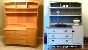 cherry changing table dresser combo changing table dresser with hutch dresser hutch combo changing table