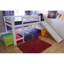 Elmo Mid Sleeper WSlide Bunk Beds Bunk Pinterest Mid - Mid sleeper bunk bed