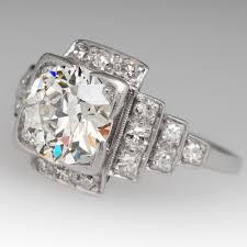 art deco wedding rings trulagreen com