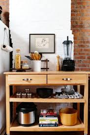 Pictures Of A  Rental Kitchen Complete Transformation - Kitchen side tables