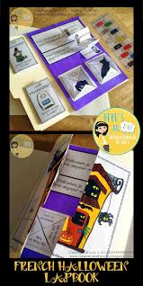 french halloween lapbook organize my classroom pinterest