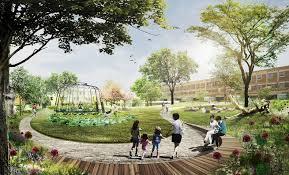 urban park inhabitat green design innovation architecture