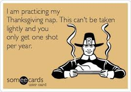 i am practicing my thanksgiving nap this can t be taken lightly