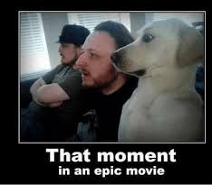Epic Movie Meme - that moment in an epic movie meme on me me