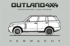 range rover drawing range rover