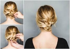 Hochsteckfrisuren Mittellange Haar Einfach by Lässige Hochsteckfrisuren Für Mittellange Haare 12 Tolle Styling