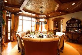 luxury dining room 2013 luxurious dining room in 2012 wooden interior interior design