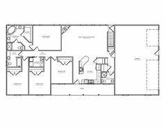 ranch floor plan 15 best ranch house barn home farmhouse floor plans and design