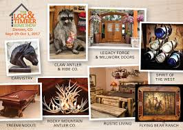 denver co 2017 the log and timber home show sneak peak into our co 2017 decor furniture corner