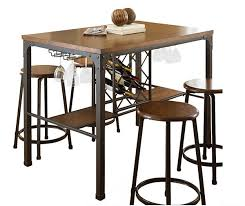 dining table with wine storage 20 breakfast nook storage table designs home design lover