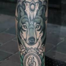 wolf half sleeve tattoos for ideas designs 7 chief