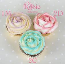 different wilton tips for different rose cupcakes cupcakes