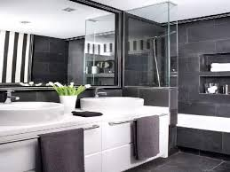 Grey And Black Bathroom Ideas Entranching Bathroom Designs Grey And White Ideas Gray
