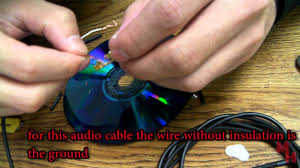how to fix or replace a bad audio jack cable plug solder less