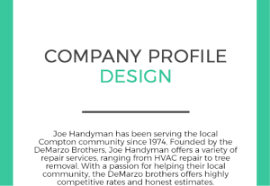 great company profile example to inspire you