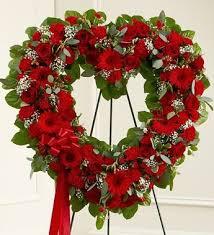 funeral flowers delivery funeral flowers delivery funeral flowers heart spray heart shaped
