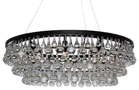 Ochre Pear Chandelier Artic Pear Forty Eight Inches