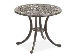 Metal Patio Side Table Modern Metal Patio Side Table And How To Rust Proof Cast Iron Weights