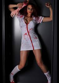Nurse Halloween Costumes Womens Ladies Halloween Zombie Nurse Costume Ladies Zombie Nurse