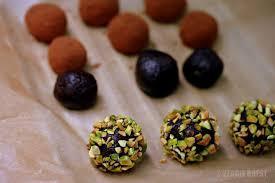 chocolate zucchini truffles vegan no added sugar