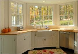 attractive bay window kitchen and 25 kitchen window seat ideas