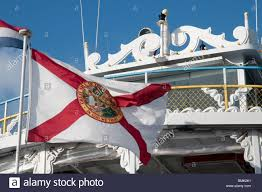 Floridas State Flag The Florida State Flag On The Jungle Queen Restaurant Boat For